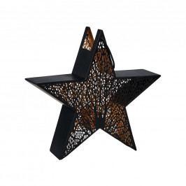 LUMINOUS Hvězda s držákem na čajovou svíčku 35 cm