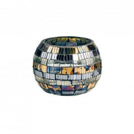 PALACIO Svícen mozaika pruhy 6 cm