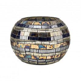 PALACIO Svícen mozaika pruhy 9,5 cm