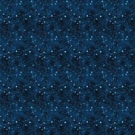 SURPRISE Dárkový papír vesmír - modrá