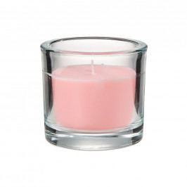 SCENTS Vonná svíčka ve sklenici růže