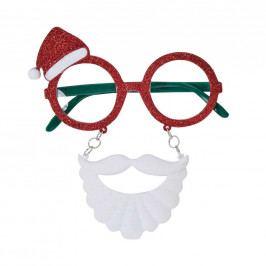 CRAZY CHRISTMAS Brýle s čepičkou a vousy
