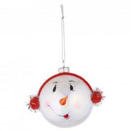 HANG ON Ozdoba hlava sněhuláka 8 cm