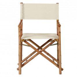 BOLLYWOOD XXL Režisérská židle - krémová