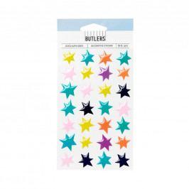 STICK AROUND Nálepky hvězdy set 30 ks
