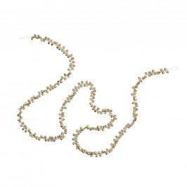 X-MAS Girlanda rolničky - zlatá