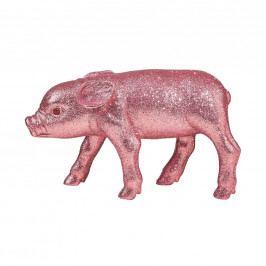PIGGY Prasátko se třpytkami 20 cm - sv. růžová