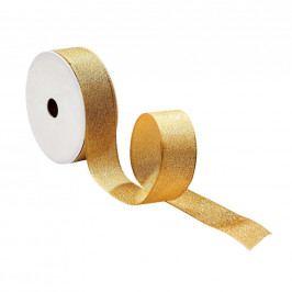 RIBBON Dárková stuha se třpytkami - zlatá