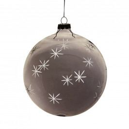 HANG ON Ozdoba koule s hvězdami 10 cm