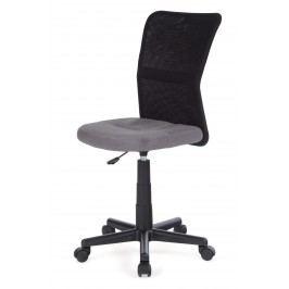 Sconto Dětská židle BAMBI šedo/černá