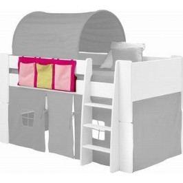 Sconto Textilní kapsář FOR KIDS růžová/žlutá