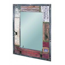 Zrcadlo s věšáčky DAKARA