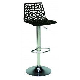 Sconto Barová židle SPIDER černá