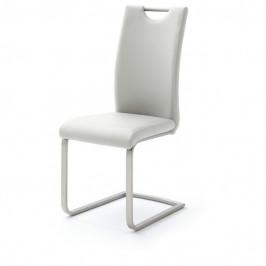Sconto Jídelní židle PIPER bílá