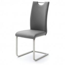 Sconto Jídelní židle PIPER šedá