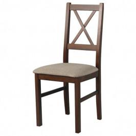 Sconto Jídelní židle NILA 10 hnědá