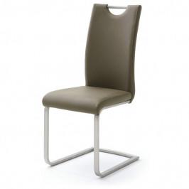 Sconto Jídelní židle PIPER hnědá