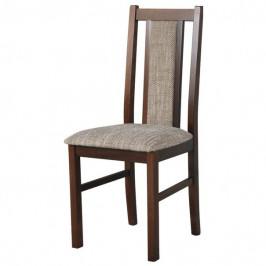 Sconto Jídelní židle BOLS 14 hnědá