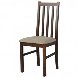 Sconto Jídelní židle BOLS 10 světle hnědá