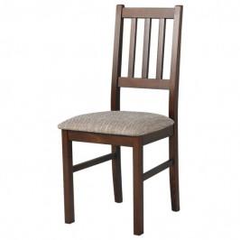 Sconto Jídelní židle BOLS hnědá