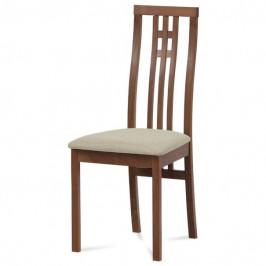 Sconto Jídelní židle AMANDA třešeň/béžová