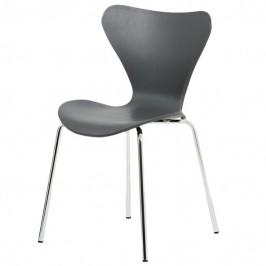 Sconto Jídelní židle ALBA šedá