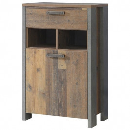 Sconto Botník CLIF wood vintage