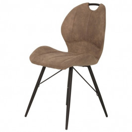 Sconto Jídelní židle KATE S hnědá