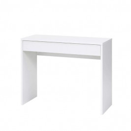Sconto Psací stůl CHECKER bílá