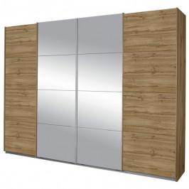 Sconto Šatní skříň SYNCRONO 2 dub wotan/zrcadlo
