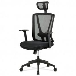Sconto Kancelářská židle EDWARD černá