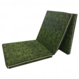 Sconto Skládací matrace SPIRALY tmavě zelená