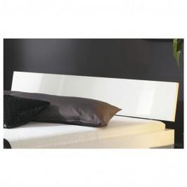 Sconto Čelo postele ARIZONA bílá vysoký lesk, šířka 95 cm