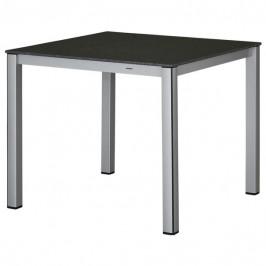 Sconto Zahradní stůl ELEMENTS 2 stříbrná/antracit