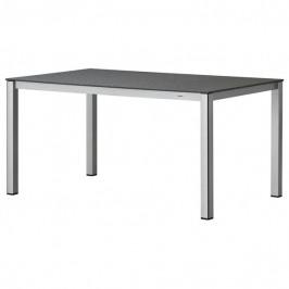 Sconto Zahradní stůl ELEMENTS stříbrná/antracit