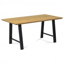 Sconto Jídelní stůl ANTONY divoký dub/černá