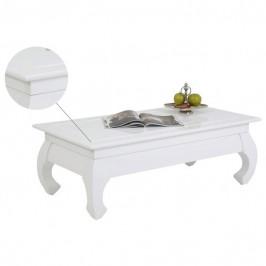 Sconto Konferenční stolek OSAKA II bílá vysoký lesk