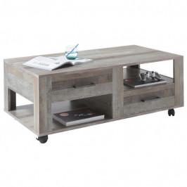 Sconto Konferenční stolek BRISBANE canyon manor wood