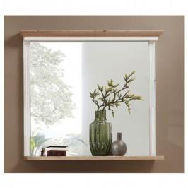 Sconto Zrcadlo JASMIN pinie bílá/dub, šířka 93 cm