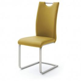 Sconto Jídelní židle PIPER žlutá