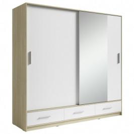 Sconto Šatní skříň SAFI šířka 220 cm