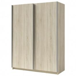 Sconto Šatní skříň SPLIT dub sonoma, šířka 150 cm