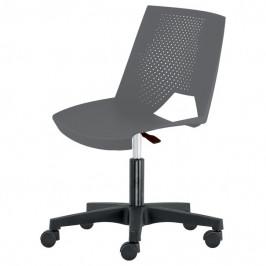 Sconto Kancelářská židle GREVE šedá