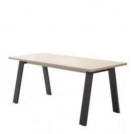 Sconto Pracovní stůl ENNIO dub elegance/antracit