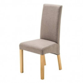 Sconto Jídelní židle FOXI přírodní buk/šedá