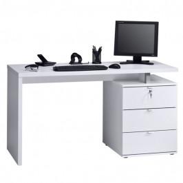 Sconto Pracovní stůl EMERSON bílá