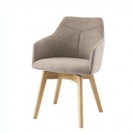 Sconto Jídelní židle JACKSON cappuccino/dub