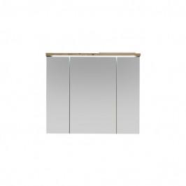 Sconto Zrcadlová skříňka POOL dub artisan, 80 cm