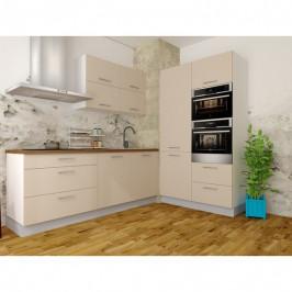 Sconto Kuchyňská sestava FACHMAN B15, 212x120 cm béžová