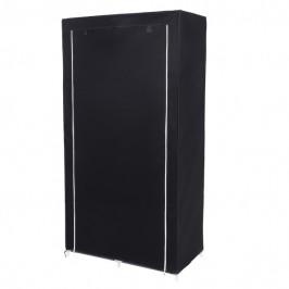 Sconto Látková šatní skříň RYG84 černá